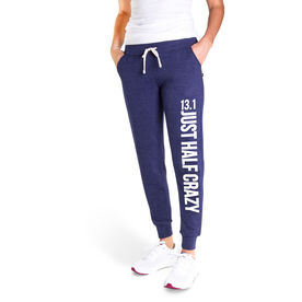 Running Women's Joggers - 13.1 Half Crazy