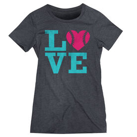 Softball Women's Everyday Tee - Love