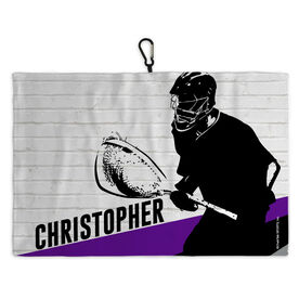 Lacrosse Bag Towels Goalie Wall
