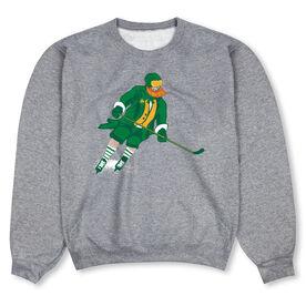 Hockey Crew Neck Sweatshirt - St. Hat-Tricks