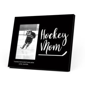 Hockey Photo Frame - Hockey Mom Script