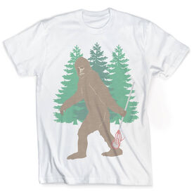 Guys Lacrosse Vintage T-Shirt - Bigfoot