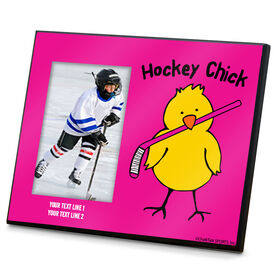 Hockey Photo Frame Hockey Chick