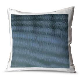 Fly Fishing Throw Pillow Bonefish