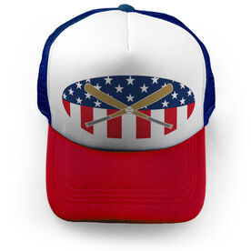 Baseball Trucker Hat - USA Baseball