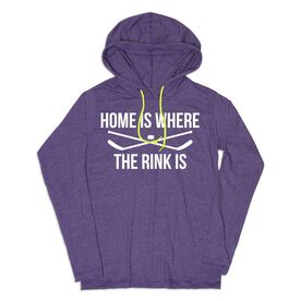 Women's Hockey Lightweight Hoodie - Home Is Where The Rink Is