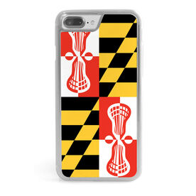Guys Lacrosse iPhone® Case - Maryland
