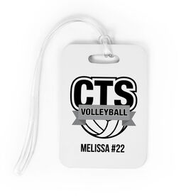 Volleyball Bag/Luggage Tag - Custom Logo