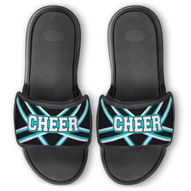 Cheerleading Repwell® Slide Sandals - Cheer Stripes