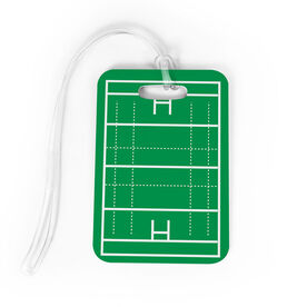 Rugby Bag/Luggage Tag - Field
