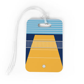 Volleyball Bag/Luggage Tag - Court