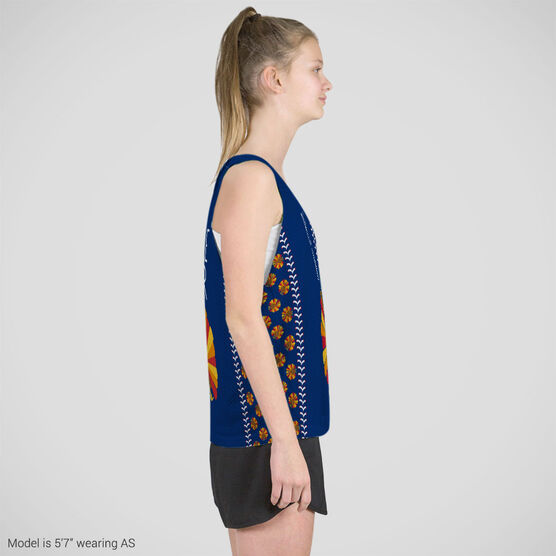 Softball Racerback Pinnie - Play Now Gobble Later