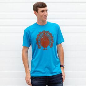 Guys Lacrosse Short Sleeve T-Shirt - Turkey Player