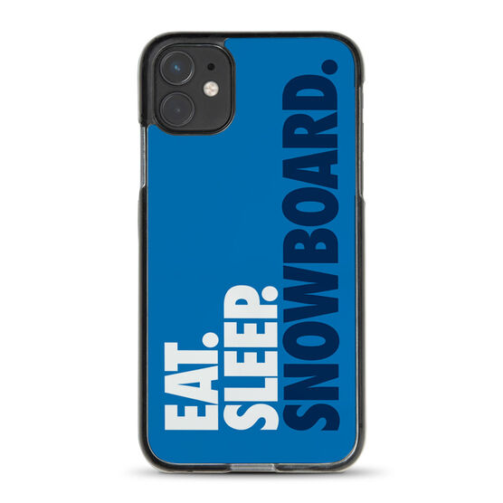 Snowboarding iPhone® Case - Eat. Sleep. Snowboard.