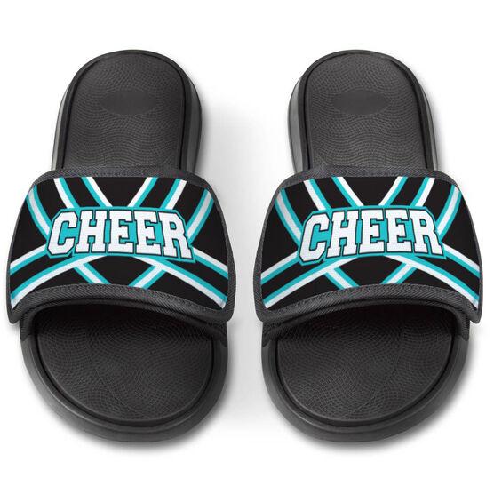 Cheerleading Repwell™ Slide Sandals - Cheer Stripes