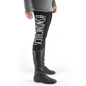 Swim High Print Leggings #SwimChick