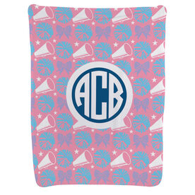 Cheerleading Baby Blanket - Cheerleading Pattern