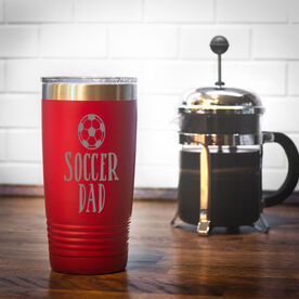 Soccer 20oz. Double Insulated Tumbler - Soccer Dad