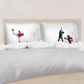 Baseball Pillowcase Set - Go For The Home Run