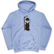 Hockey Hooded Sweatshirt - Hockey Reaper