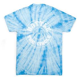 Wrestling Short Sleeve T-Shirt - Battle In Circle Tie Dye