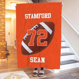 Football Premium Blanket - Personalized Team