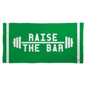 Cross Training Beach Towel Raise the Bar
