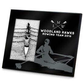 Crew Photo Frame Custom Rowing Initials