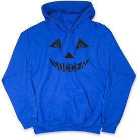 Soccer Standard Sweatshirt - Soccer Pumpkin Face