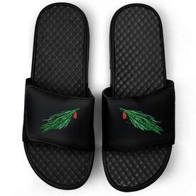 Fly Fishing Black Slide Sandals - Deceiver