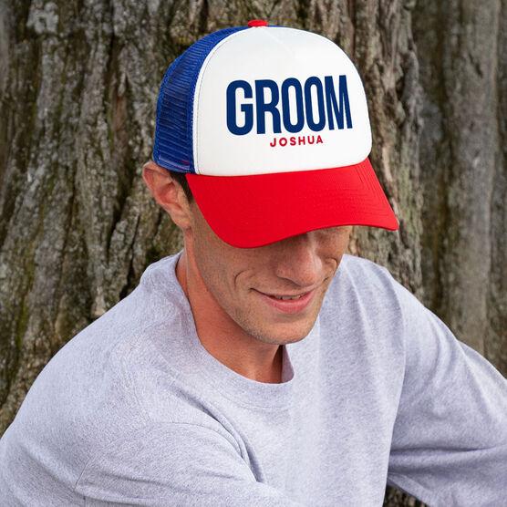 Personalized Trucker Hat - Groom