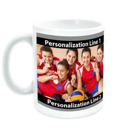 Volleyball Coffee Mug Custom Photo With Color
