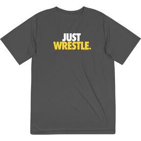 Wrestling Short Sleeve Performance Tee - Just Wrestle