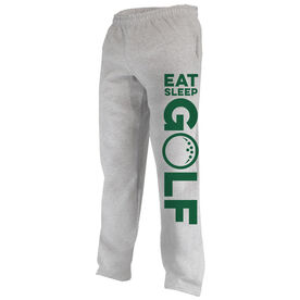 Golf Fleece Sweatpants Eat Sleep Golf