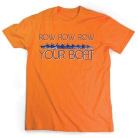 Crew Tshirt Short Sleeve Row Row Row Your Boat