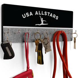 Gymnastics Hook Board Gymnastics Team Name