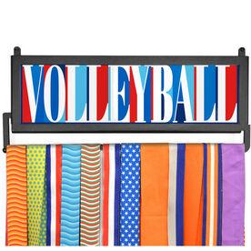 AthletesWALL Medal Display - Volleyball Mosaic