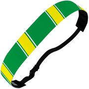 Athletic Juliband No-Slip Headband - Team Color Stripes