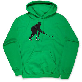Hockey Hooded Sweatshirt - Hockey Player