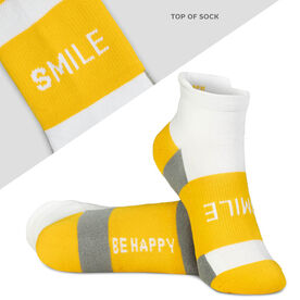 Socrates® Woven Performance Socks Smile (Yellow)