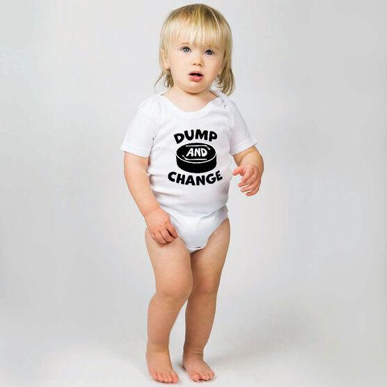 Hockey Baby One-Piece - Dump and Change