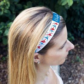 Gymnastics Juliband No-Slip Headband - Personalized Gymnastics Pattern