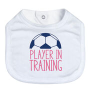 Soccer Baby Bib - Player In Training