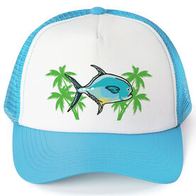Fly Fishing Trucker Hat Permit On The Fly
