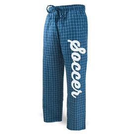 Soccer Lounge Pants Script