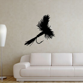 Fly Fishing Removable Wall Decal - Dry Fly