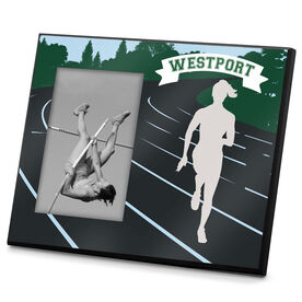 Track & Field Photo Frame Track and Field Runner Silo Female