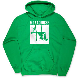 Guys Lacrosse Standard Sweatshirt - Lacrosse State MD