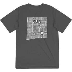 Men's Running Short Sleeve Tech Tee - New Mexico State Runner