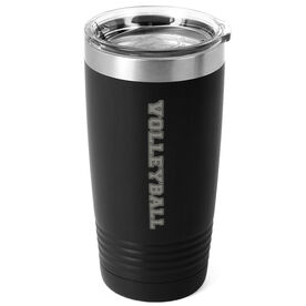 Volleyball 20 oz. Double Insulated Tumbler - Volleyball